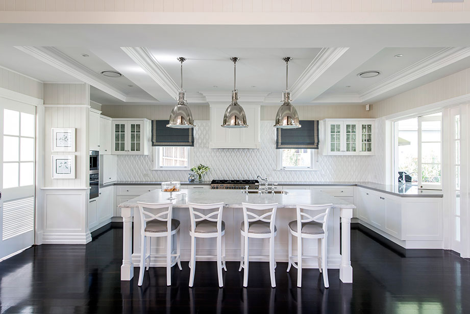 Cape Cod Style Home Kitchens